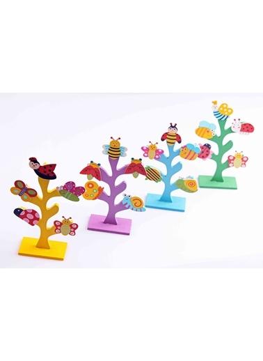 2'li Ahşap Hayat Ağacı Mandallı Notluk Seti-Learning Toys